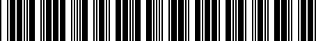 Barcode for 2320674510
