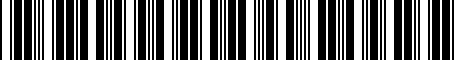 Barcode for 7682535020