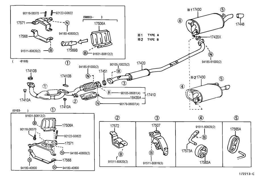 genuine toyota 4runner parts catalog html