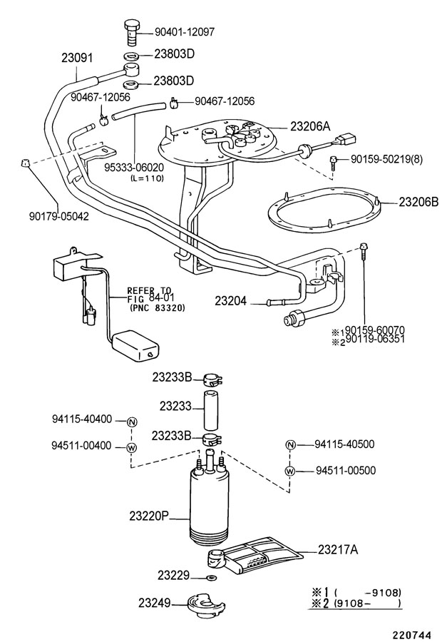Diagram Fuel injection system for your 1992 Toyota Celica LIFTBACK, TURBO ALL-TRAC 2000CC 16-VALVE DOHC EFI TURBO, MANUAL