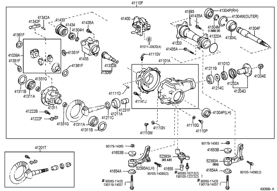 toyota tacoma actuator assembly  differential vacuum  truck