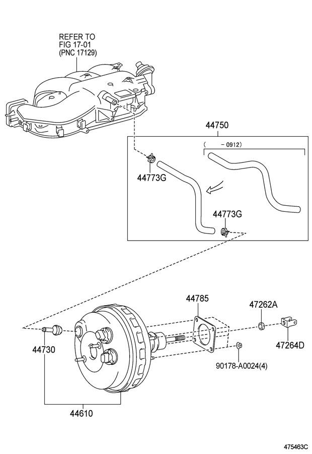 Toyota Tundra Booster Assembly  Brake  Booster  Brake  Booster  Brake