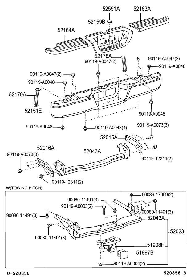 2001 Toyota Tundra Arm Sub