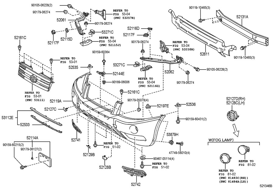 Toyota Sienna Body Parts Diagram Html