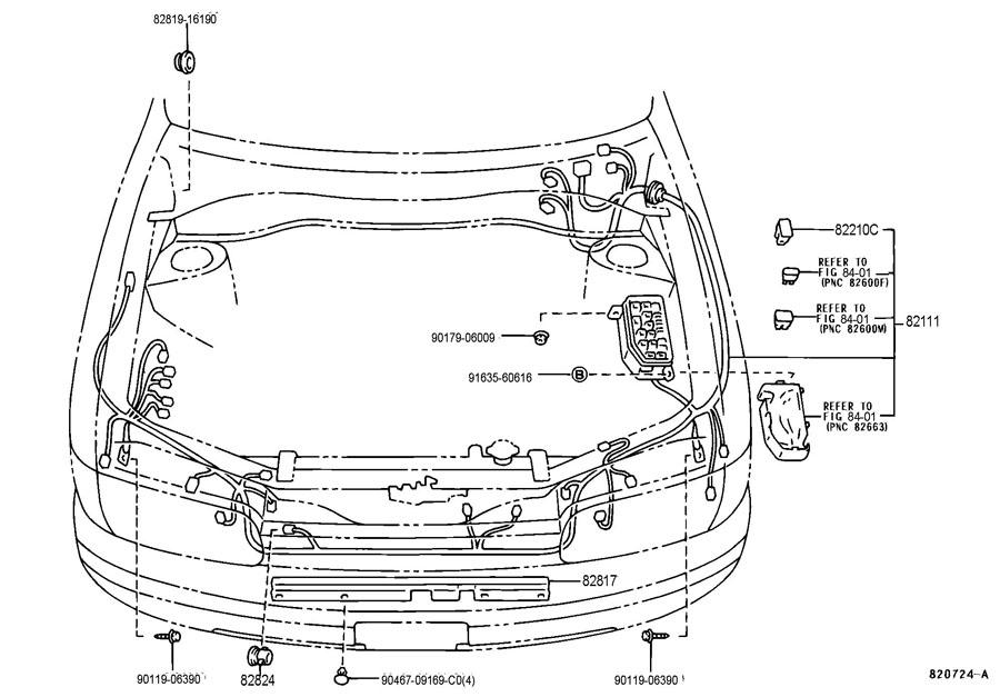 Toyota Tercel Engine Room Fusible Link  Fusible Link  Link