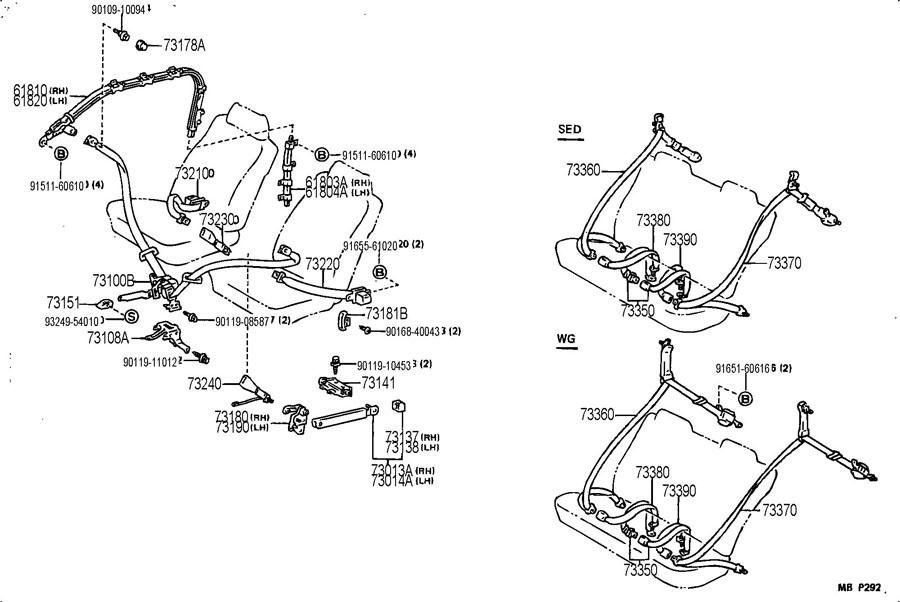 1991 Camry Engine Diagram