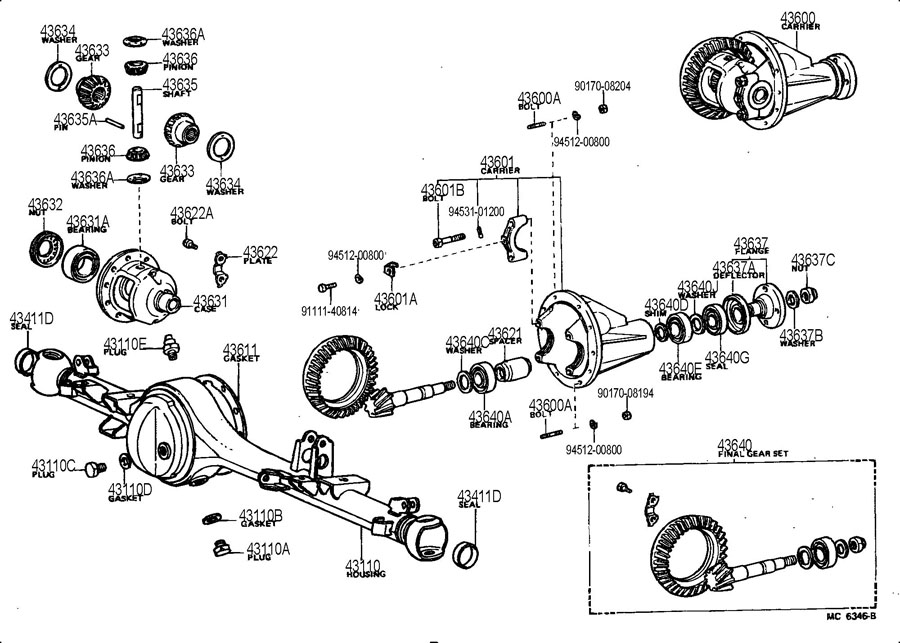 toyota sequoia oem parts diagram